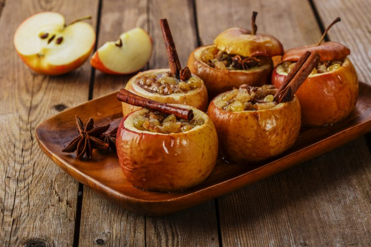 Baked Honeycrisp Apples by Worthing Court