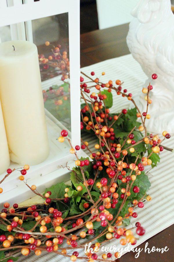 Creating-a-Lantern-Berry-Wreath | The Everyday Home | www.everydayhomeblog.com