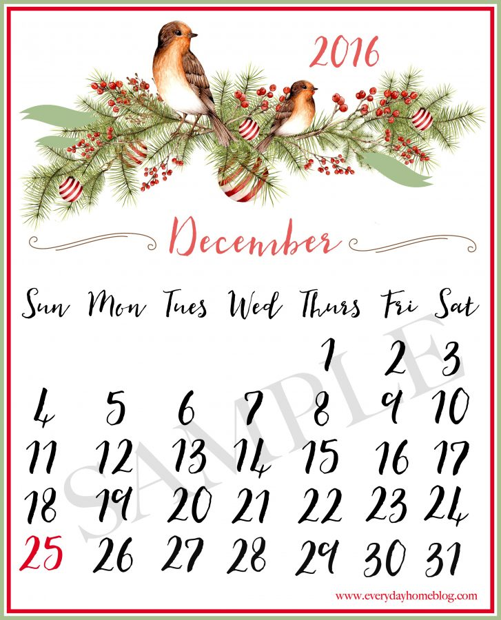 december-calendar-printable-sample