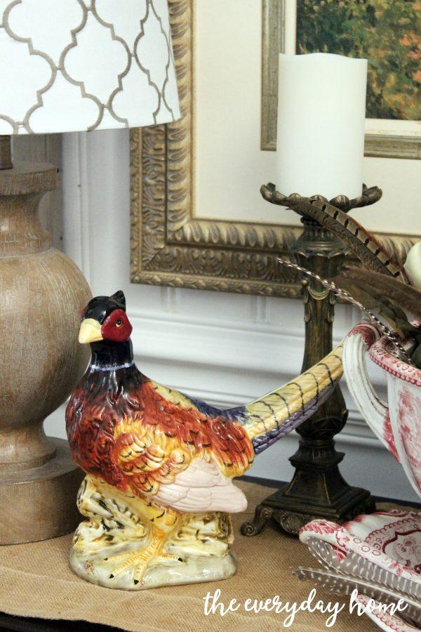 decorating-the-buffet-for-fall | The Everyday Home | www.everydayhomeblog.com