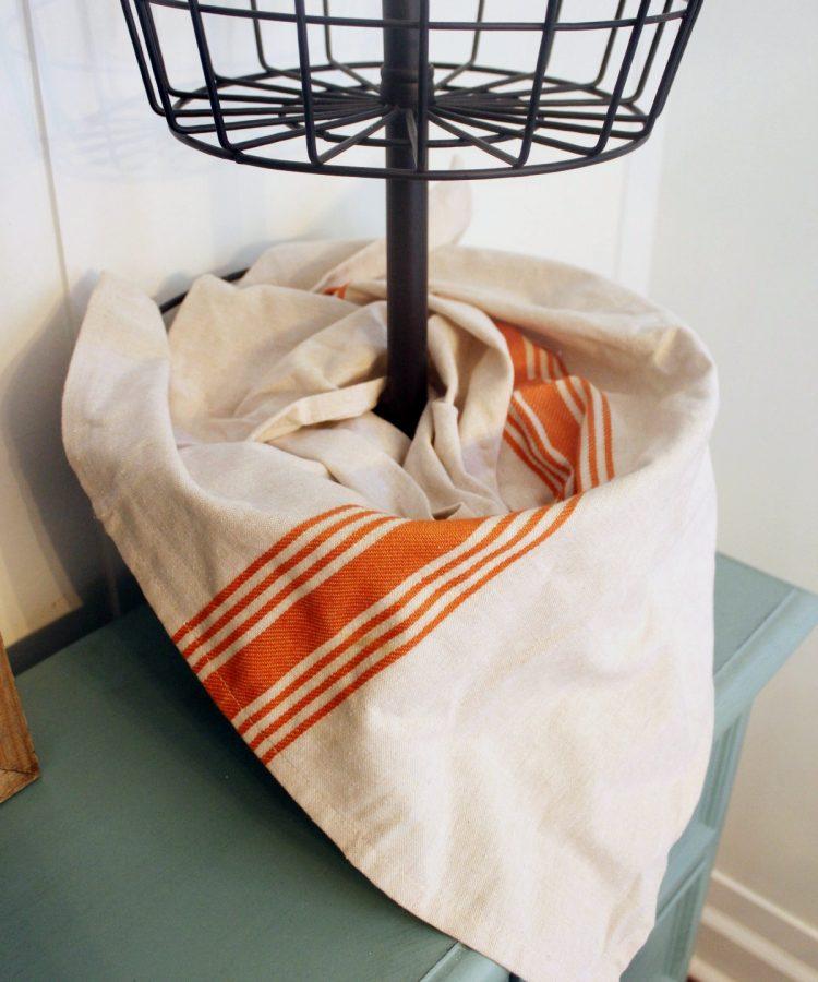 Fabric Liner   The Everyday Home   www.everydayhomeblog.com