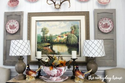 Dining Room Buffet for Fall