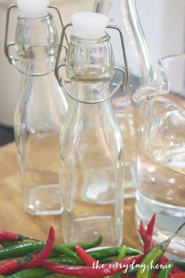 pepper-vinegar-jars | The Everyday Home | www.everydayhomeblog.com
