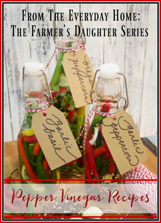 pepper-vinegar-recipes | The Everyday Home | www.everydayhomeblog.com