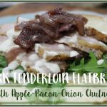 Roasted Pork Flatbread Sandwich