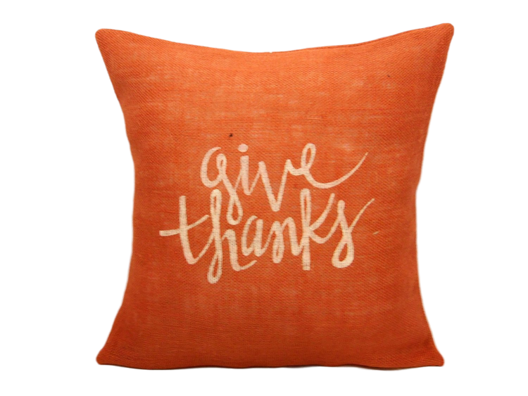 give-thanks-orange-pillow