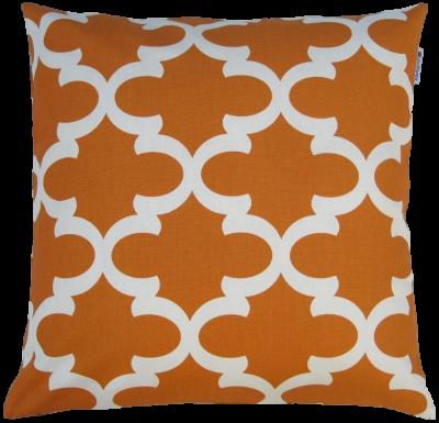 orange-quatrefoil