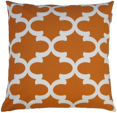 orange-quatrefoil