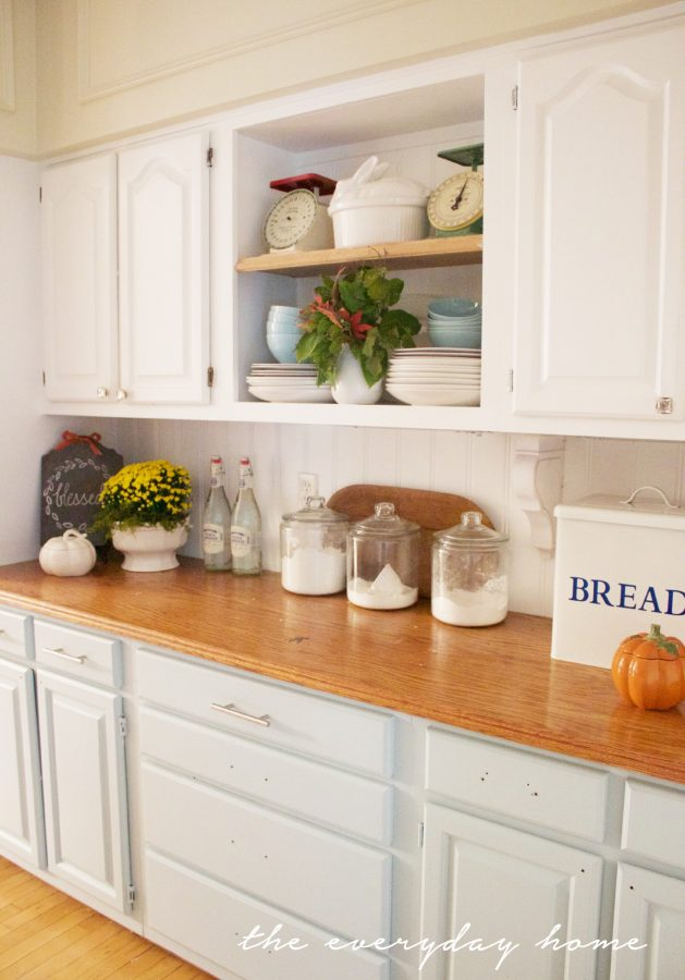a-southern-home-kitchen-for-fall-fall-tour | The Everyday Home | www.everydayhomeblog.com