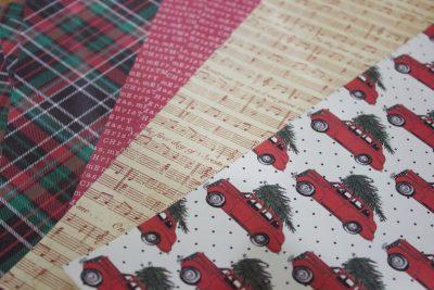 christmas-ornament-scrapbook-papers | The Everyday Home | www.everydayhomeblog.com
