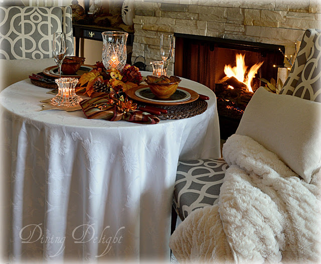 Cozy Fall-Fireside Dining-by Dining Delight-shared at-One More Time Events-www.onemoretimeevents.com