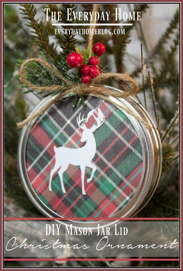 diy-mason-jar-lid-christmas-ornament | The Everyday Home | www.everydayhomeblog.com