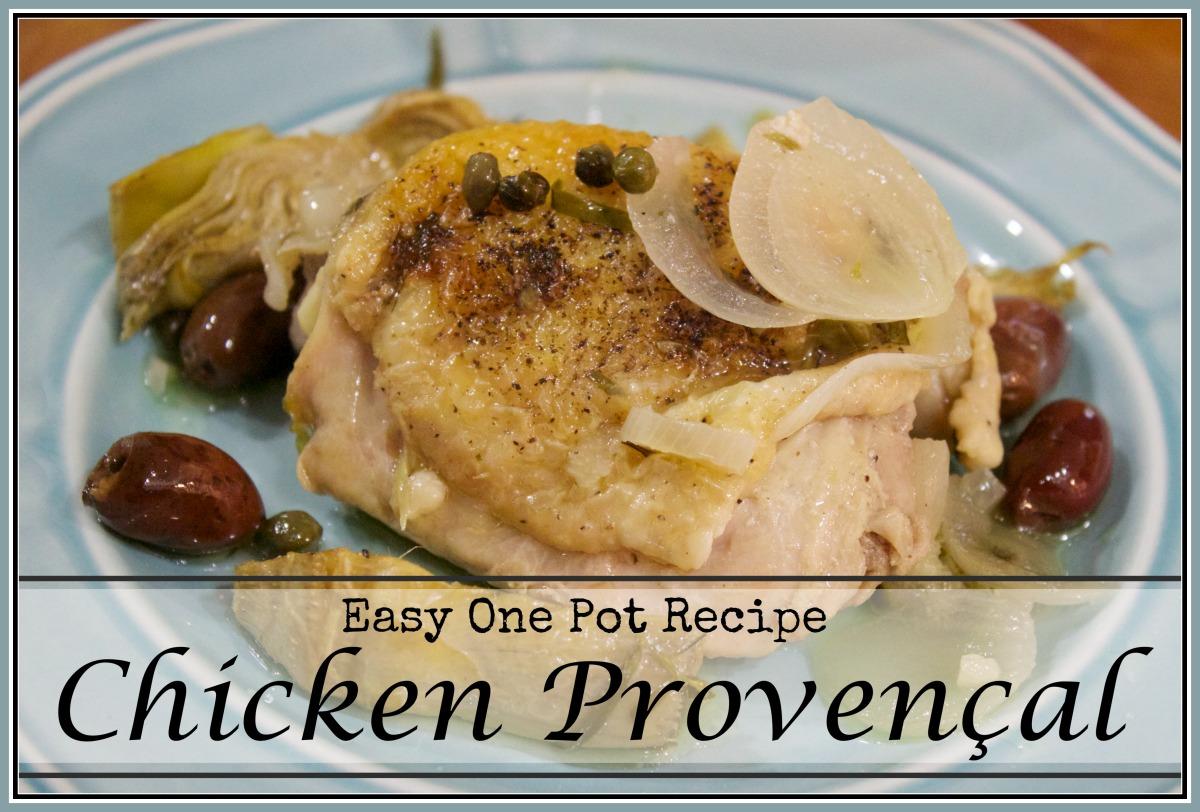 easy-chicken-provencal | The Everyday Home | www.everydayhomeblog.com