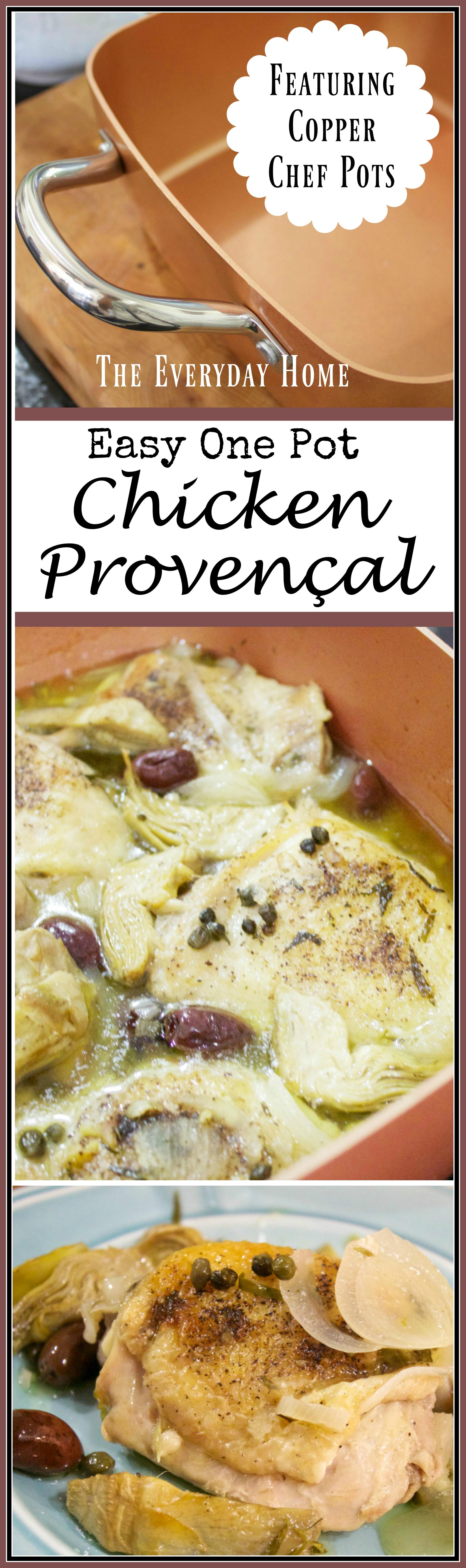 easy-one-pot-chicken-provencal | The Everyday Home | www.everydayhomeblog.com