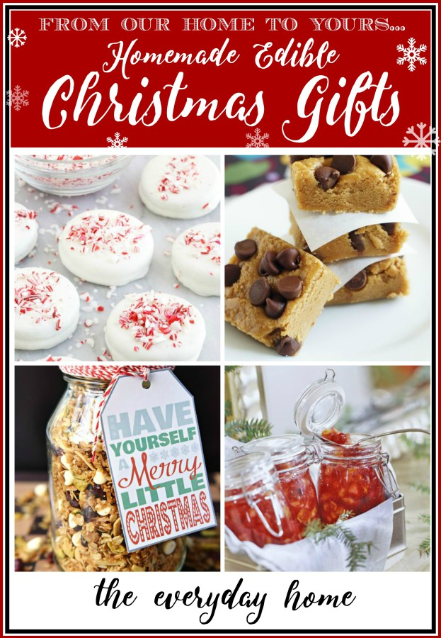 edible-homemade-christmas-gifts | The Everyday Home | www.everydayhomeblog.com