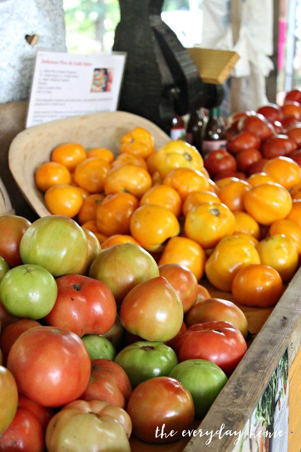 heirloom-tomatoes | The Everyday Home | www.everydayhomeblog.com