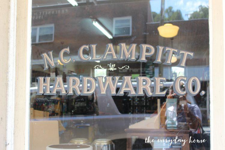 nc-clampitt-hardware-company | The Everyday Home | www.everydayhomeblog.com