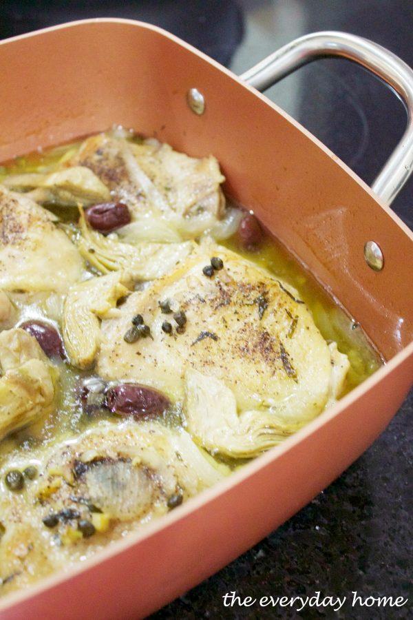 pot-chicken-provencal | The Everyday Home | www.everydayhomeblog.com