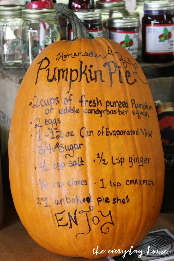 recipe-pumpkin | The Everyday Home | www.everydayhomeblog.com