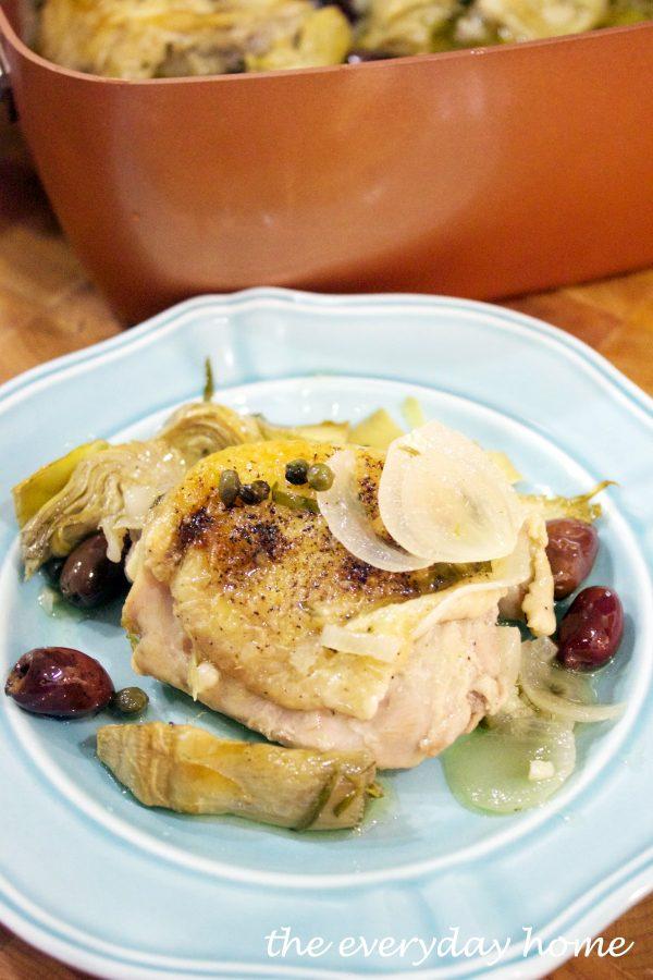 tarragon-chicken-provencal | The Everyday Home | www.everydayhomeblog.com