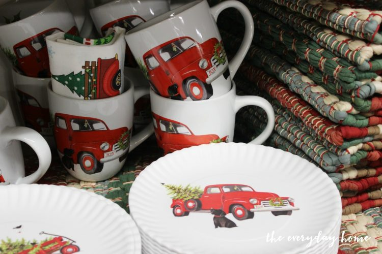 vintage-truck-dishes | The Everyday Home | www.everydayhomeblog.com
