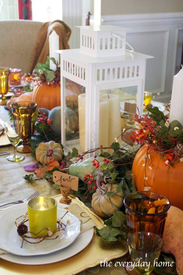 Fall Centerpiece Ideas | The Everyday Home