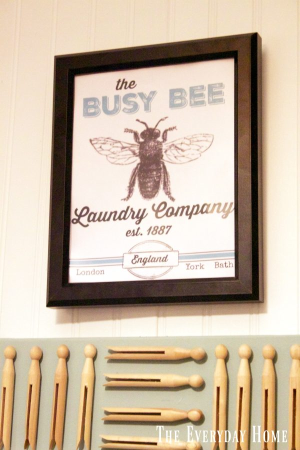 busy-bee-laundry-company-printable | The Everyday Home | www.everydayhomeblog.com