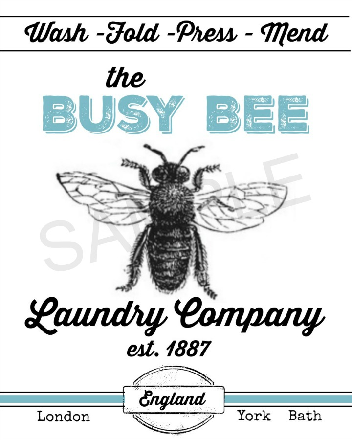 busy-bee-printable-sample | The Everyday Home | www.everydayhomeblog.com