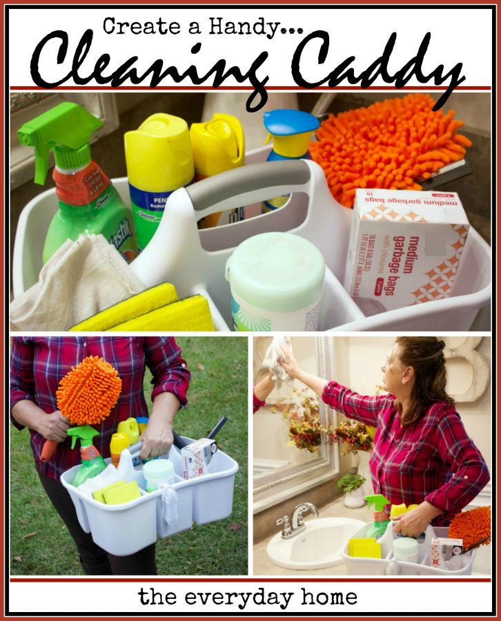 create-a-handy-cleaning-caddy | The Everyday Home | www.everydayhomeblog.com