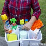 Create a Handy Cleaning Caddy