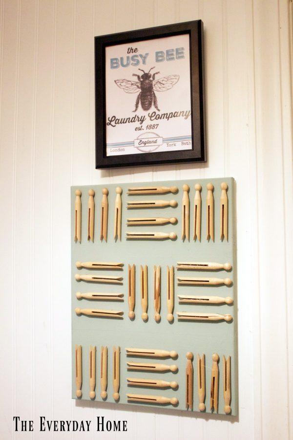 diy-laundry-art | The Everyday Home | www.everydayhomeblog.com