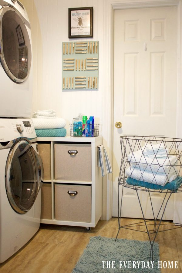 diy-laundry-cubby | The Everyday Home | www.everydayhomeblog.com