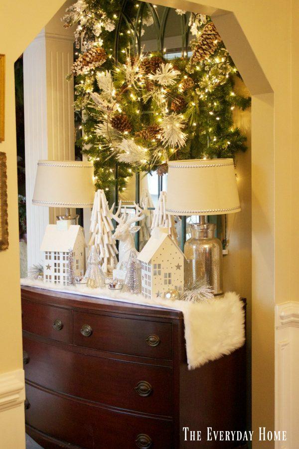 frosty-winter-village-foyer-chest