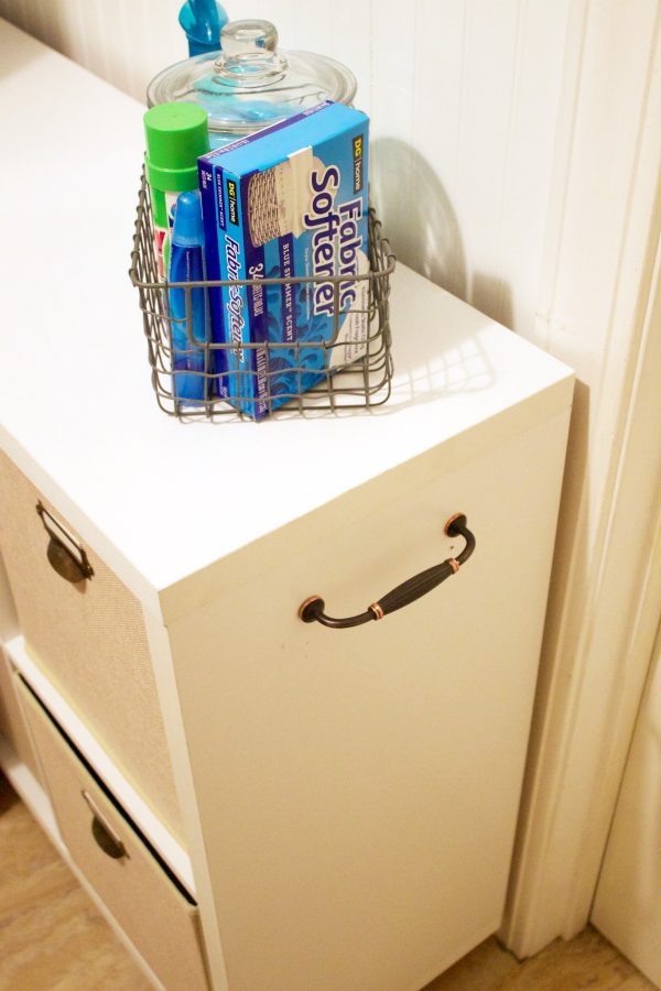 how-to-make-a-diy-laundry-cubby | The Everyday Home | www.everydayhomeblog.com