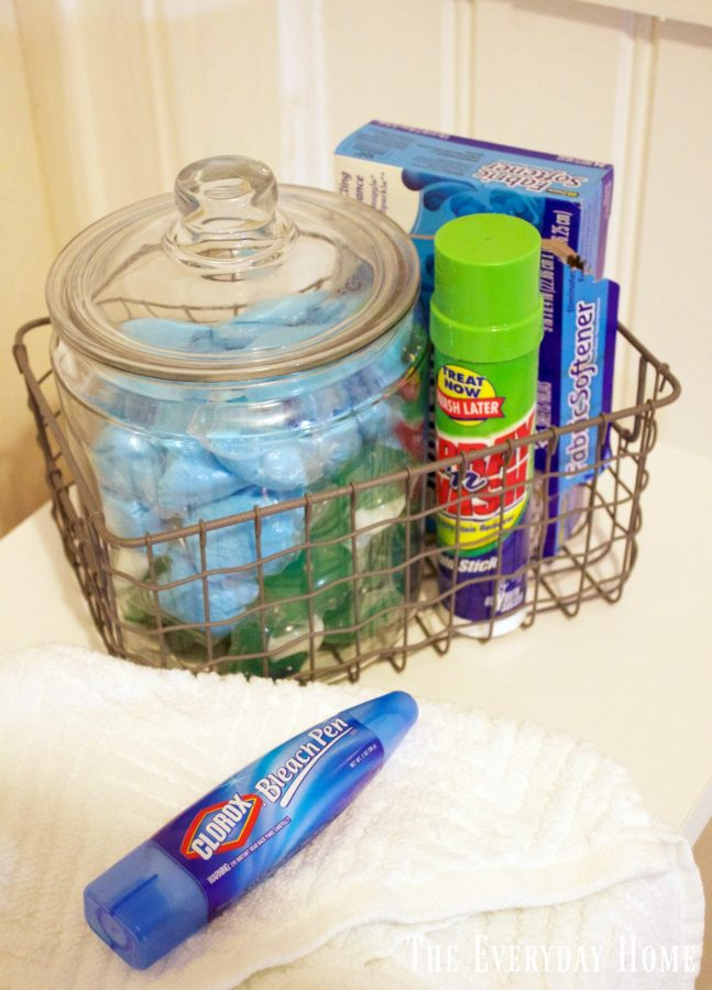 laundry-supplies | The Everyday Home | www.everydayhomeblog.com