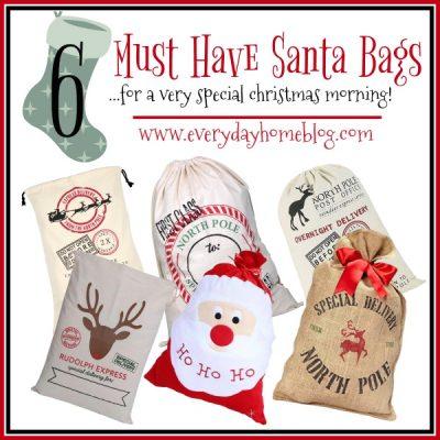 6 Must Have Santa Bags