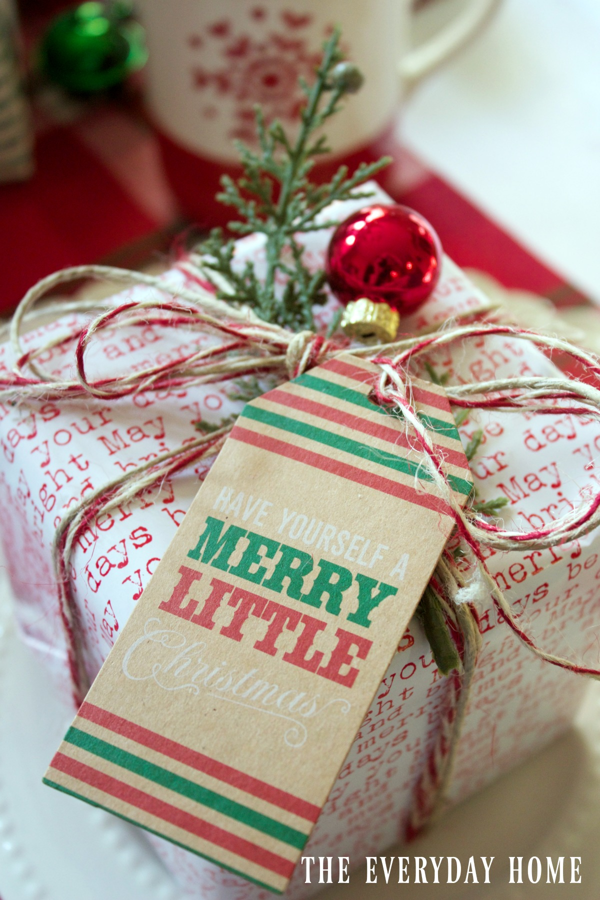 Packages On A Santa Chrostmas
