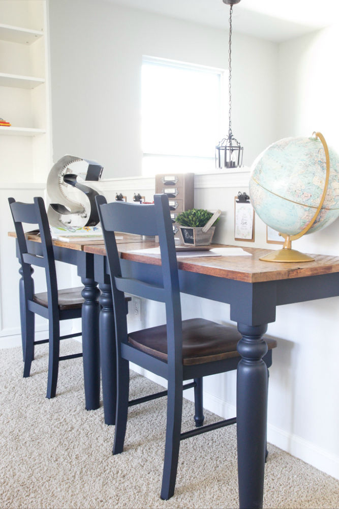 Share it one more time inspiration party 58 one more for Repurposed kitchen table