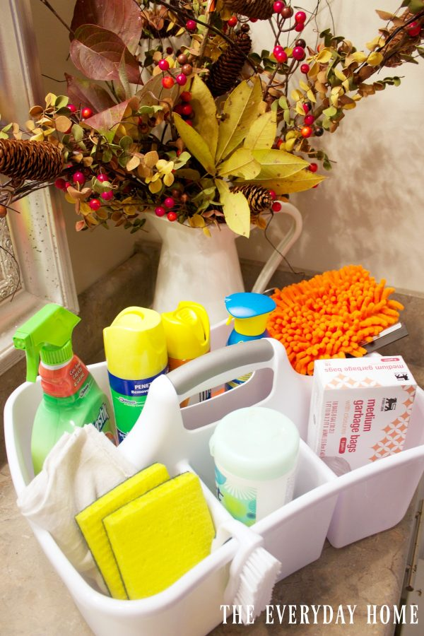 why-i-use-a-cleaning-caddy | The Everyday Home | www.everydayhomeblog.com