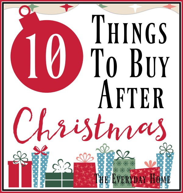 10 Things You Should After Christmas
