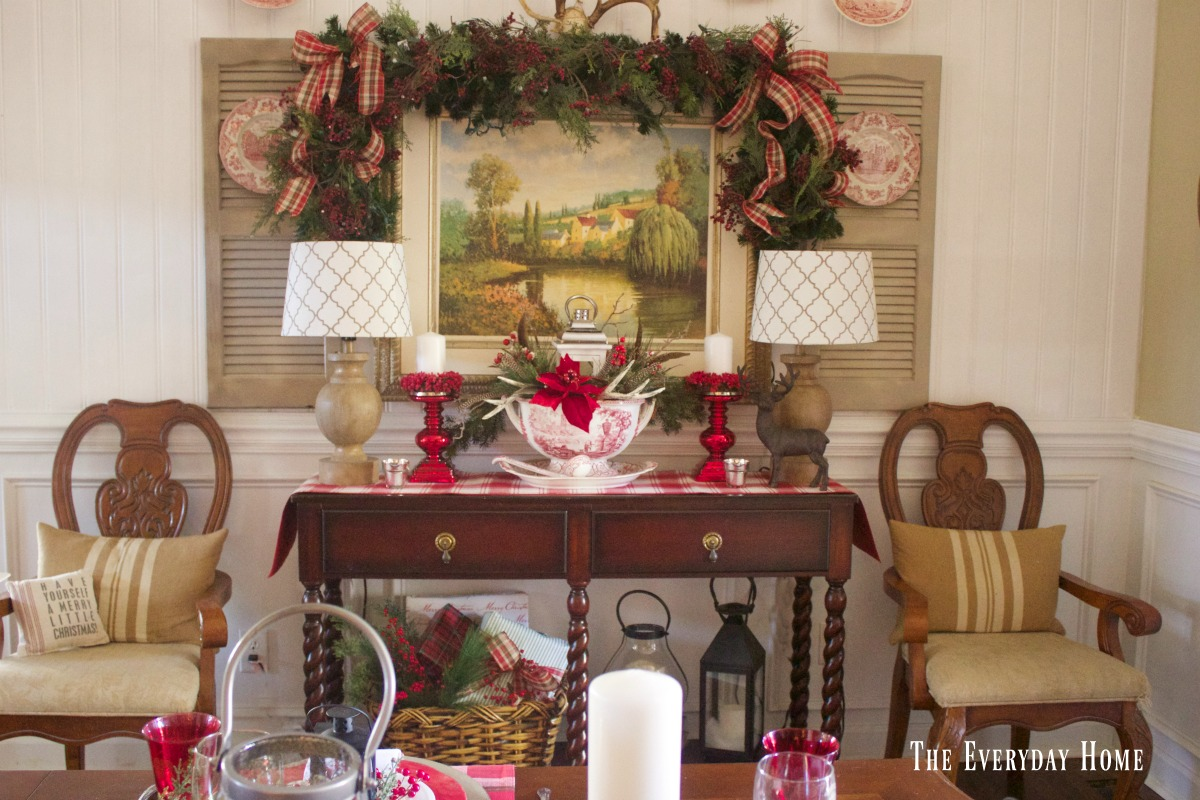 dining-room-buffet-for-christmas-with-chairs