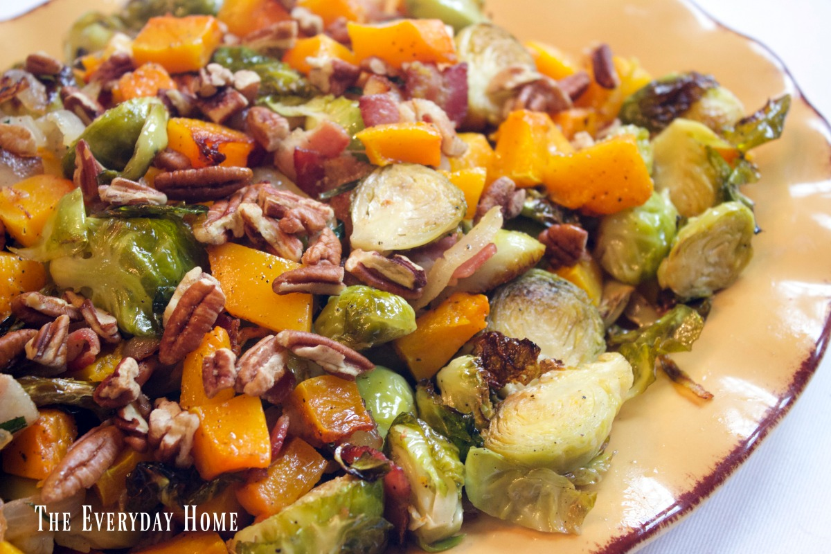 roasted-brussel-sprouts-and-butternut-squash-with-bacon