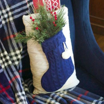 Sweater Stocking Pillows