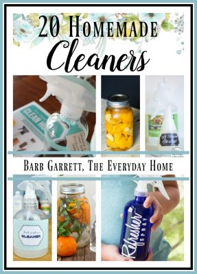 20 Homemade Cleaners