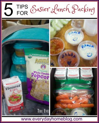 Tips for Easier Lunch Packing