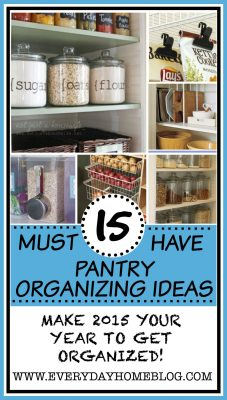 15 MUST HAVE Pantry Organizing Ideas