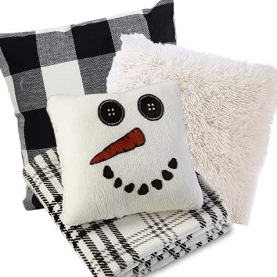 15 Winter Pillows and Throws for Your Home