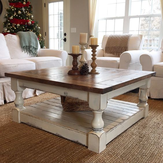 Nice 15 Beautifully Painted Coffee Tables | The Everyday Home |  Www.everydayhomeblog.com