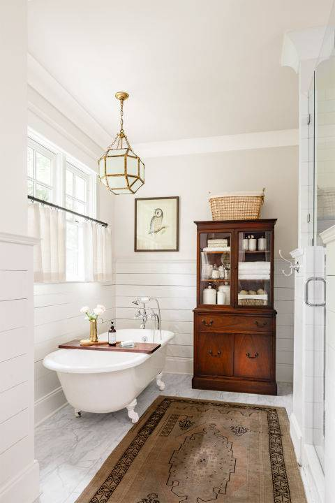domino magazine bathrooms 10 ways to add shiplap to your farmhouse bathroom the 10226