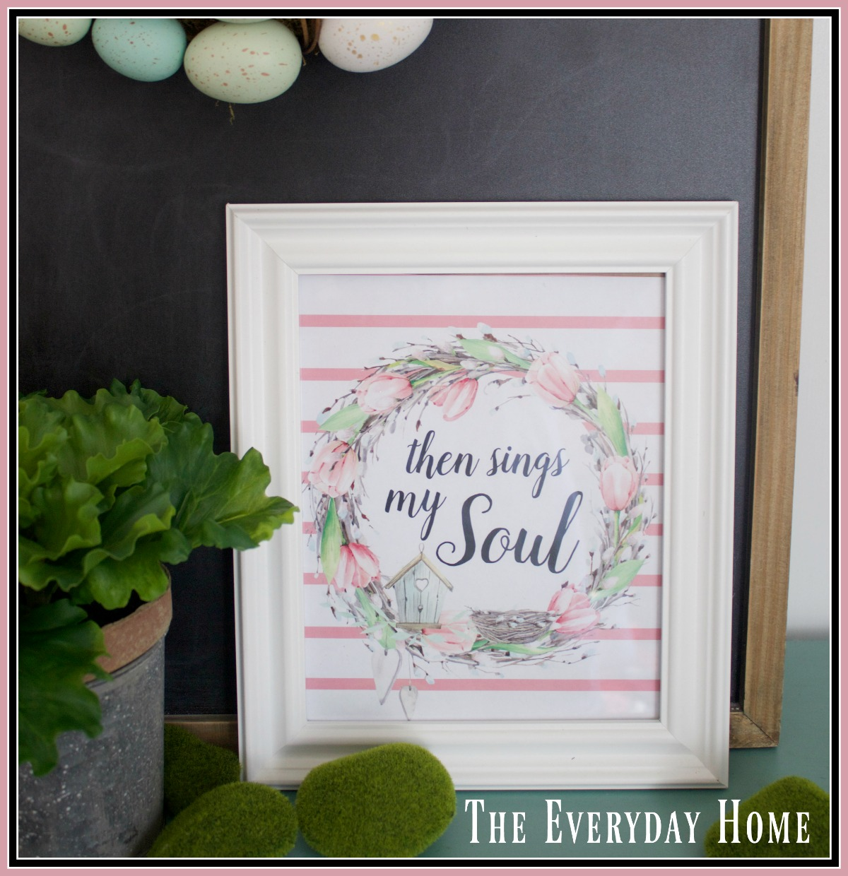 "FREE ""Then Sings My Soul"" Spring Printable"